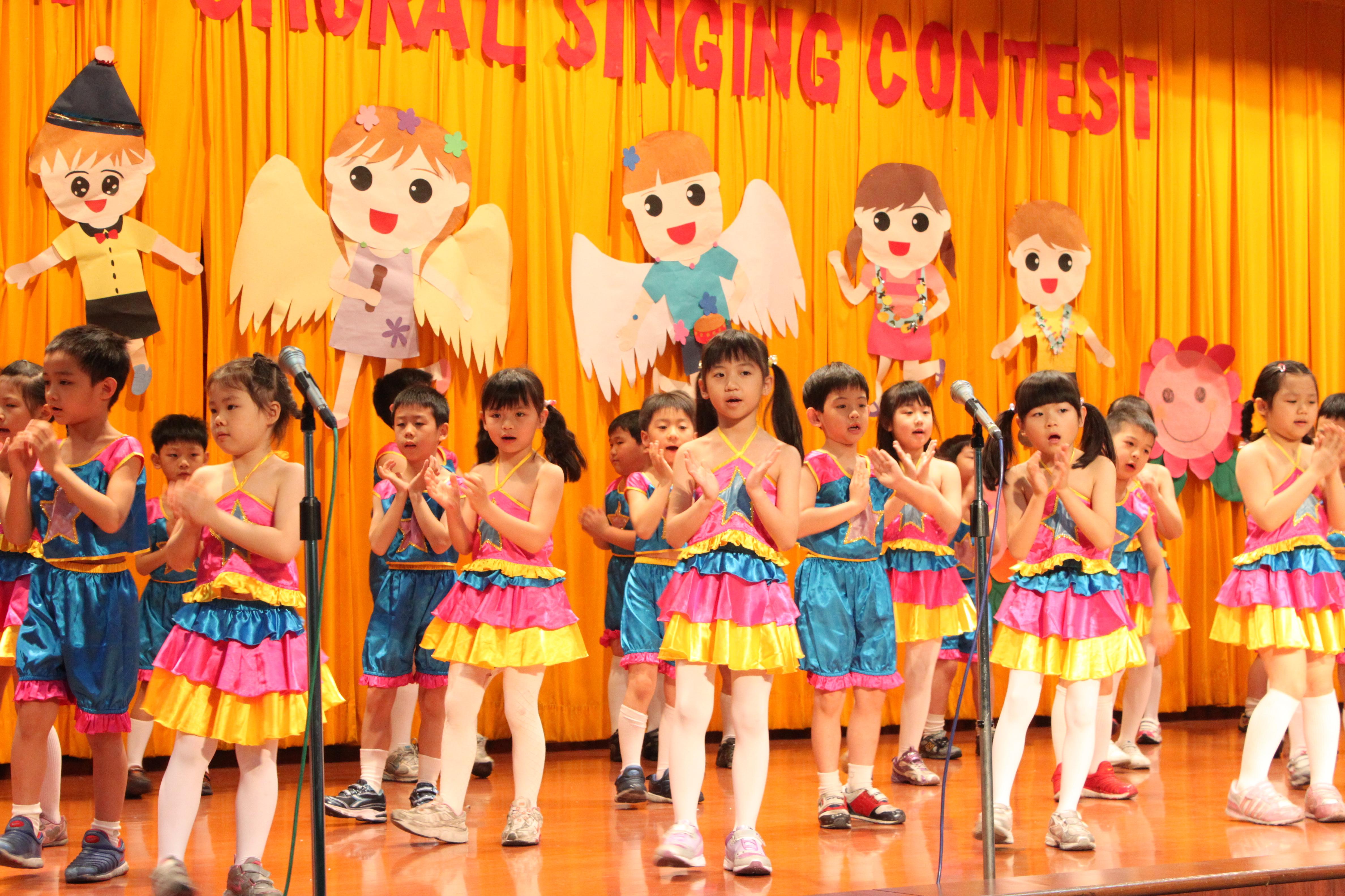 四~五年级英文歌唱比赛